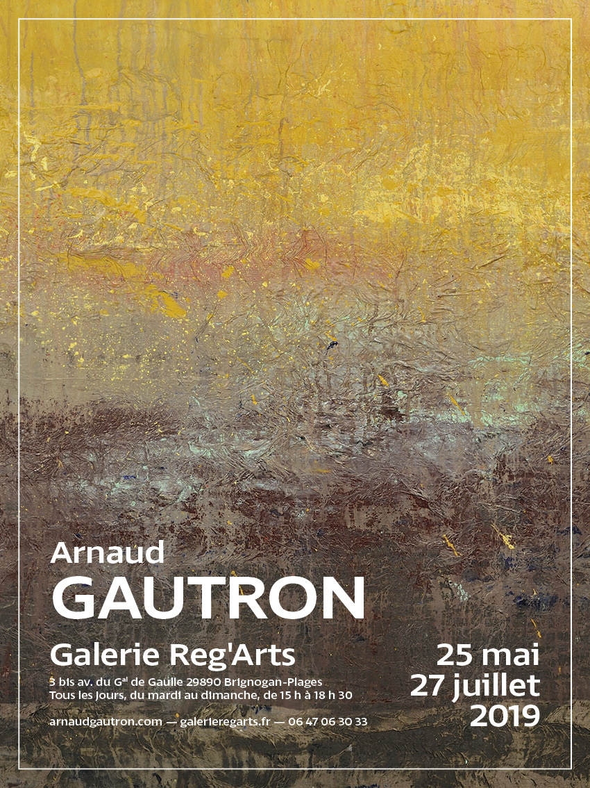 Blog Arnaud Gautron - A summer exhibition at Reg'Arts Gallery